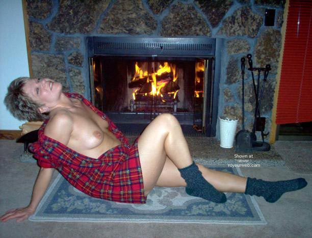 Pic #8 - Angelique Beside The Fire