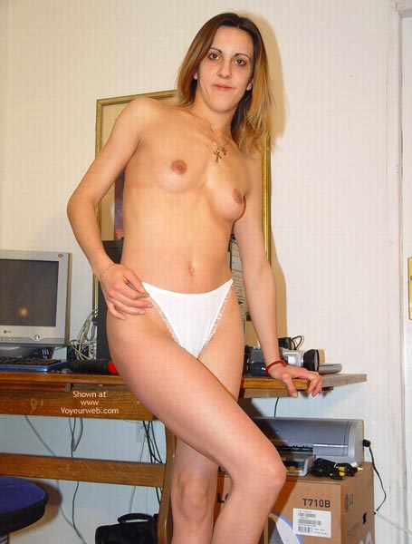 Pic #5 - Alexis In White Panties