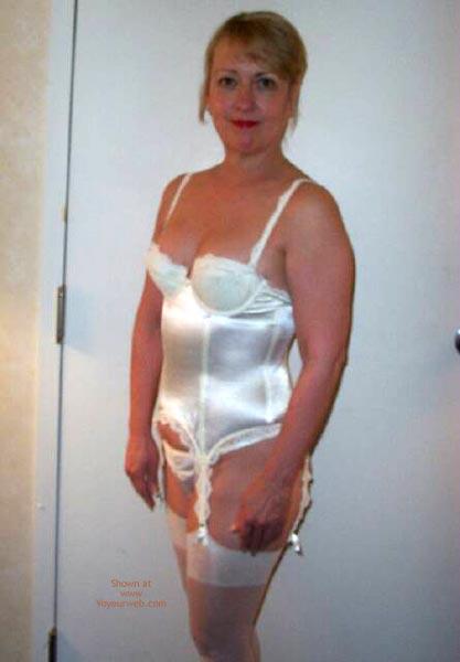 Pic #1 - White Lingerie