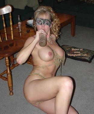 Pic #4 - Wife In Chainmail Bikini