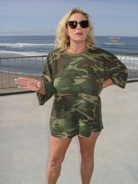 Pic #1 - Ashley In Camoflge