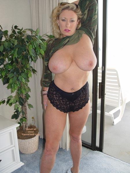 Pic #4 - Ashley In Camoflge