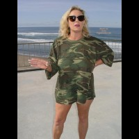 Ashley In Camoflge