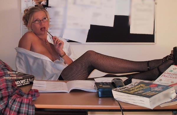 Pic #3 - Elli Sexy Secretary