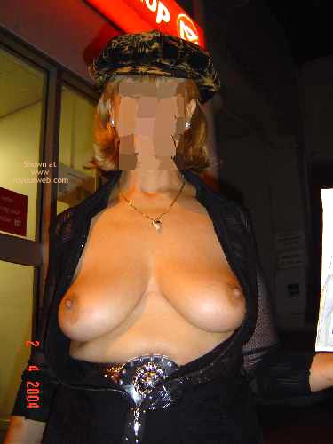 Pic #7 - Tigerlady, See Through At The Mail.