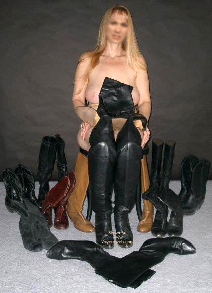 Pic #1 - Ms. Jones' Boot Collection