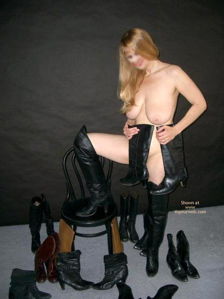 Pic #6 - Ms. Jones' Boot Collection