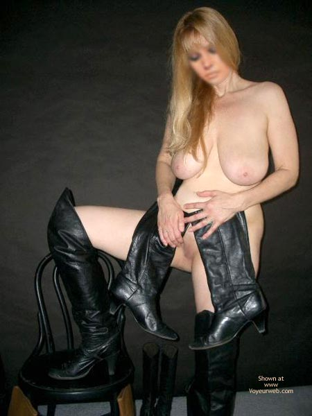 Pic #7 - Ms. Jones' Boot Collection