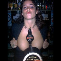Beer Boobs - Cleavage
