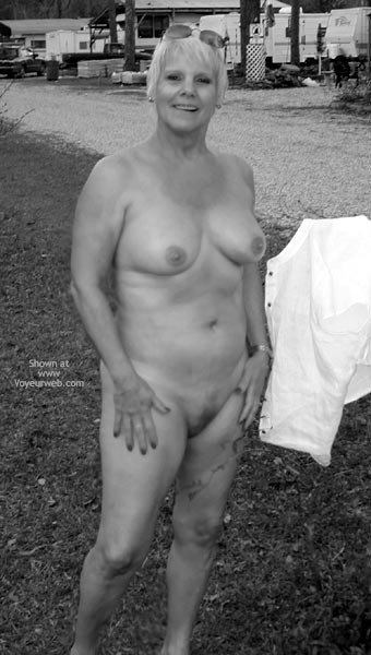 Pic #8 - Redhotgrani (62yo) Black And White