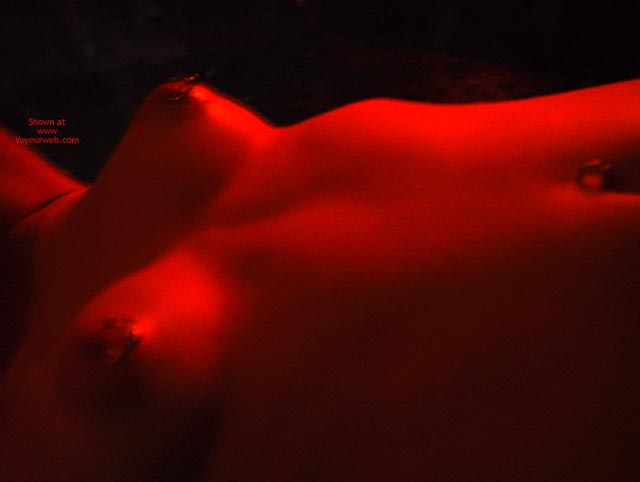 Pic #2 - Alex Gets Naked By Firelight