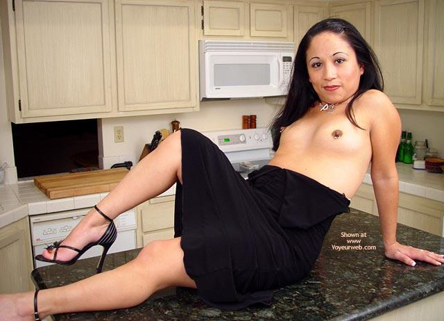 Pic #5 - 1st Post Hotfudgenipples Black Dress Tease