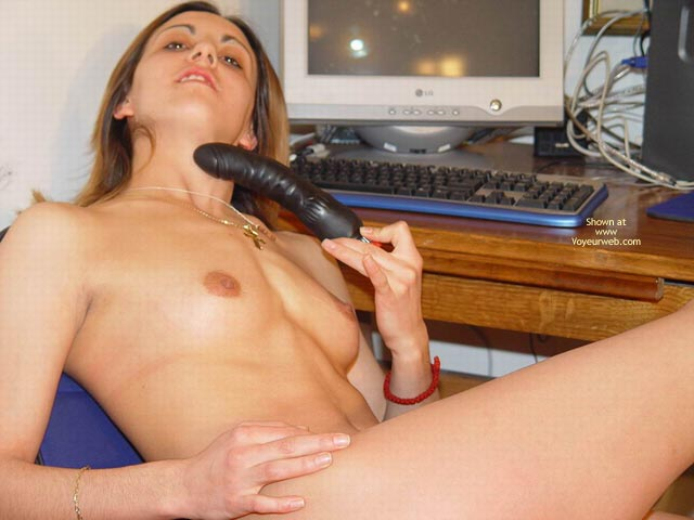 Pic #5 - Sexy With Her Toy