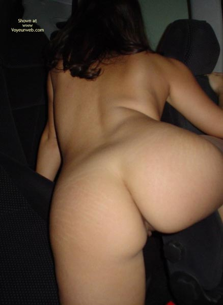 Pic #7 - Naked In The Car 2