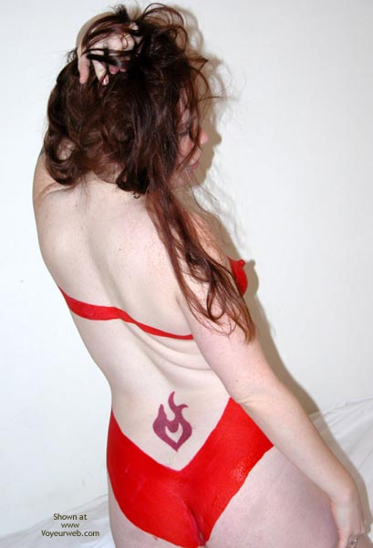Pic #3 - Angel Body Painted