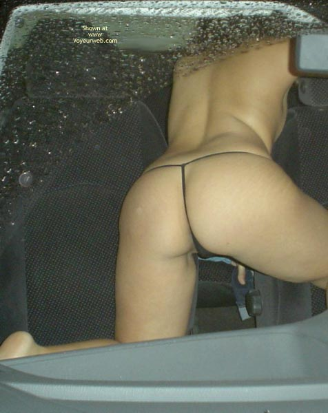 Pic #4 - Naked In The Car 4