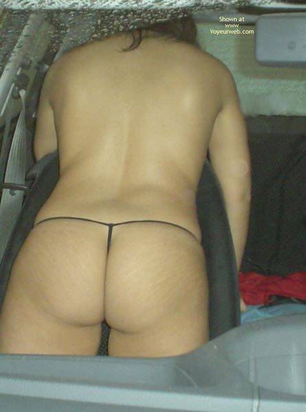 Pic #5 - Naked In The Car 4