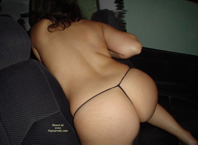 Pic #7 - Naked In The Car 4