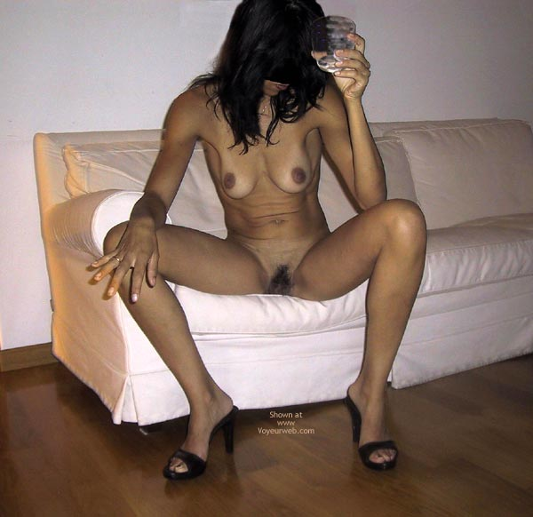 Pic #1 - Mia Moglie Elisa Drinks A Glass Of Water 2