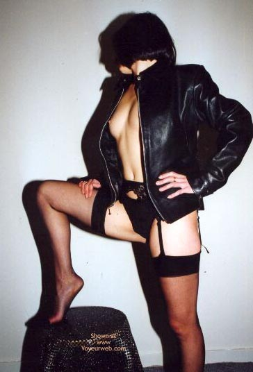 Pic #9 - Fanny In Leather