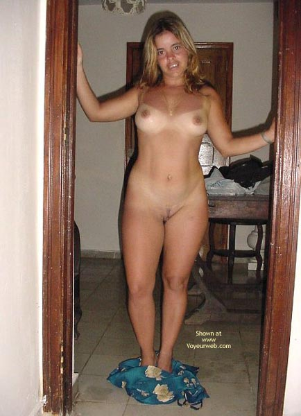 Pic #7 - *Tw New! The Striptease Of A Cuban Girl In Voyeu