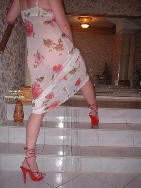Pic #2 - My Beautifull Wife Red Stilletos
