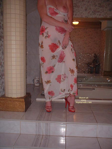 Pic #3 - My Beautifull Wife Red Stilletos