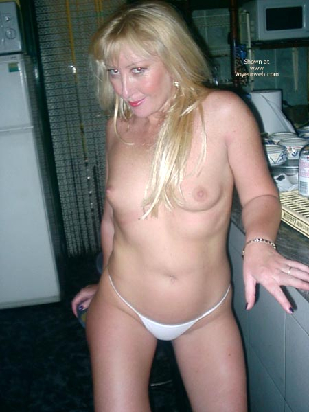 Pic #8 - Sex Mad Slut Serving Behing The Bar