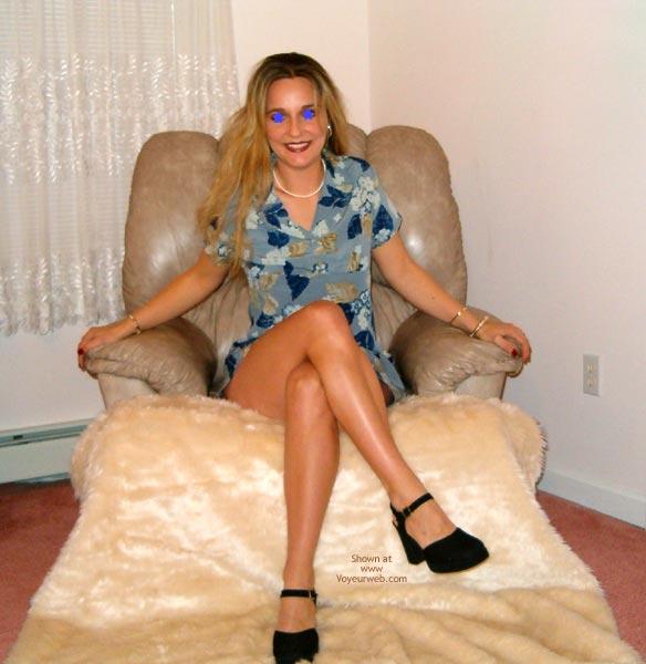 Pic #1 - Adrianna Soprano'S Sexy Blue Sundress