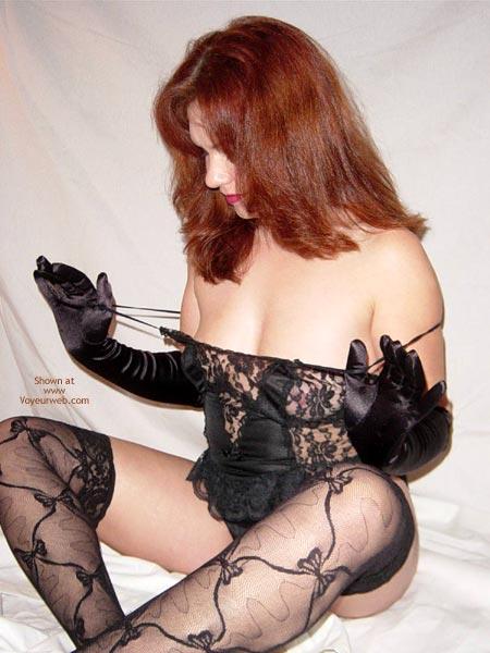 Pic #3 - In Black Lingerie