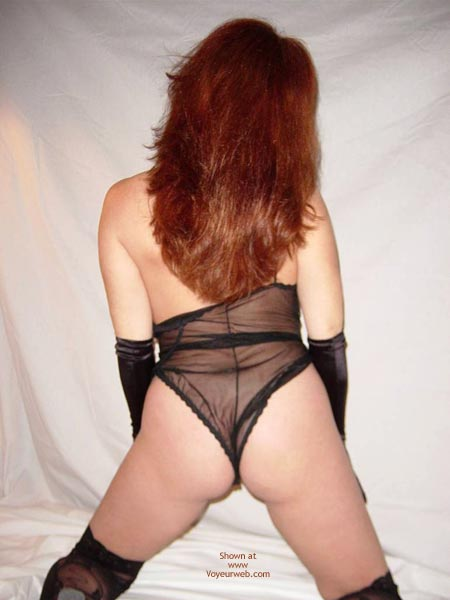 Pic #10 - In Black Lingerie