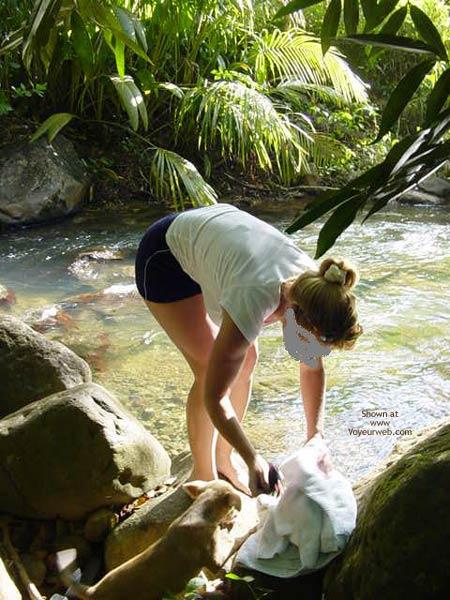 Pic #1 - My Fiancee Brooke'S Mountain Stream Frolic