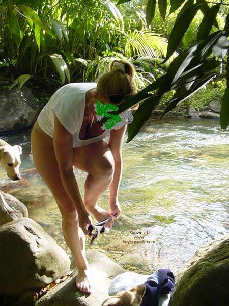 Pic #2 - My Fiancee Brooke'S Mountain Stream Frolic