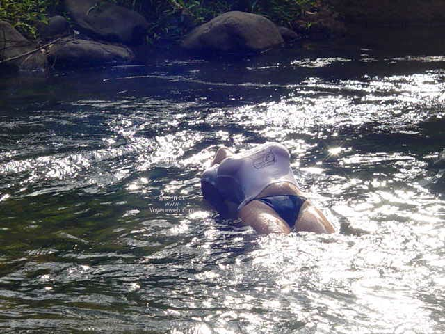 Pic #3 - My Fiancee Brooke'S Mountain Stream Frolic