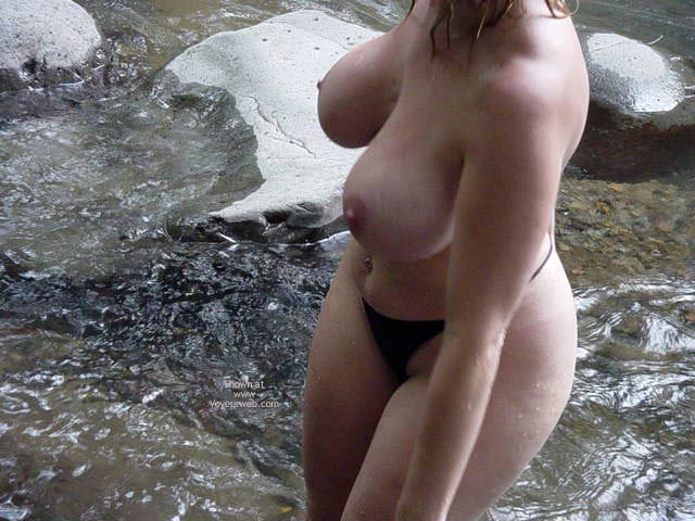 Pic #9 - My Fiancee Brooke'S Mountain Stream Frolic