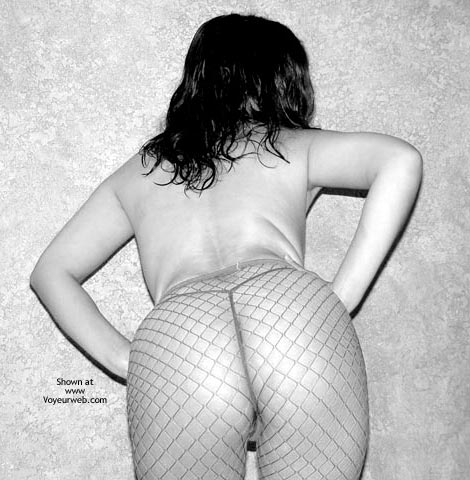 Pic #3 - Fishnets In B And W