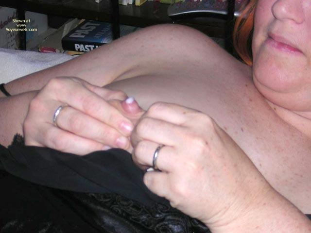 Pic #4 - Naughtysimone Licks Her Own Milk
