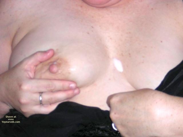 Pic #8 - Naughtysimone Licks Her Own Milk