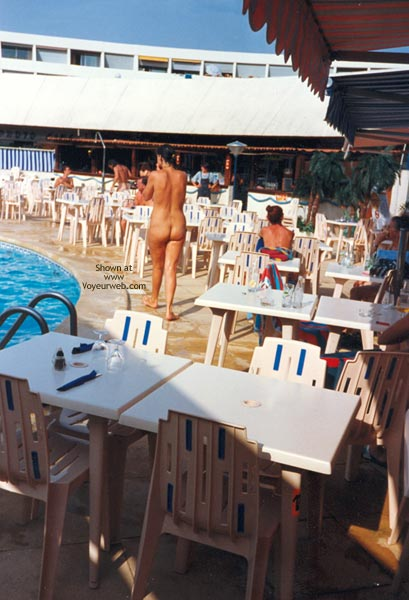 Pic #3 - Laurence At Nudist Camp