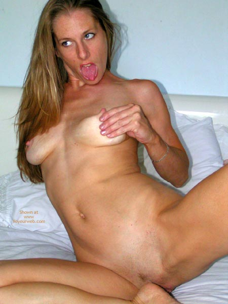 Pic #1 - Pinching Nipples - Hairy Bush, Spread Legs, Tiny Tits, Tongue Out , Pinching Nipples, Lascivious Tongue, Spread Legs On Bed, Trimmed Bush, Press Boobs, Blonde Tiny Tits, Shaved Blonde, Blonde Milf, Shaved Bush, Tongue Out, Spread Legs