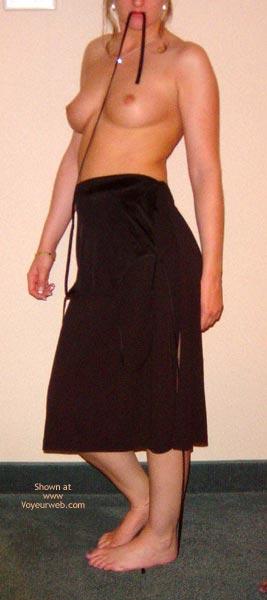 Pic #2 - Amanda Is Back. In Black!