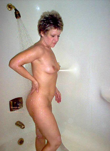 Pic #3 - Angelique In The Shower