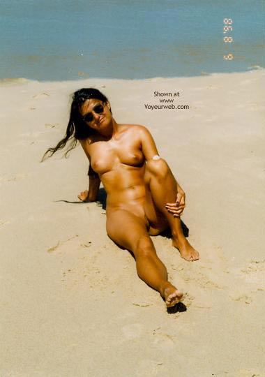 Pic #6 - Kati Am Strand Teil 1