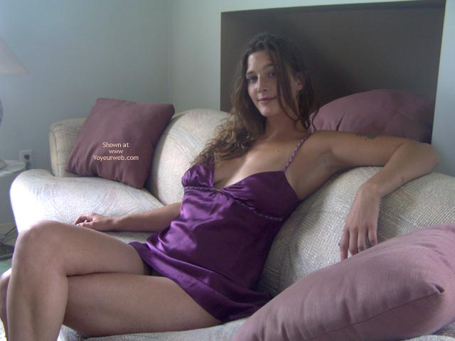 Pic #1 - Kali Naked On The Couch 1