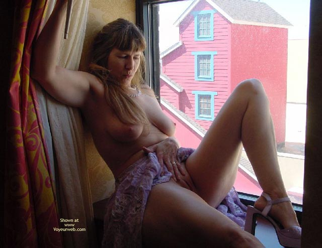 Pic #4 - Purple Patty In Atlantic City Window