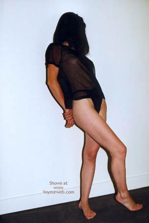 Pic #1 - Fanny In Black And Nude