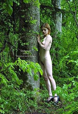 Pic #4 - Csilla In The Romanian Wood 1