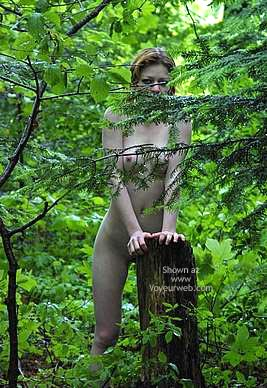 Pic #6 - Csilla In The Romanian Wood 1
