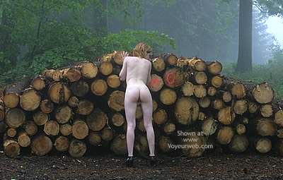 Pic #9 - Csilla In The Romanian Wood 1
