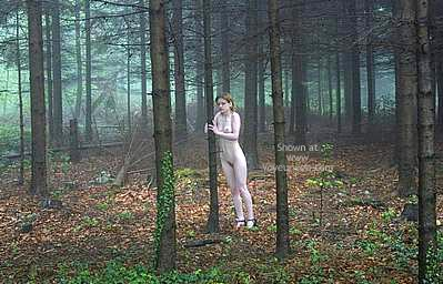 Pic #2 - Csilla In The Romanian Wood 3